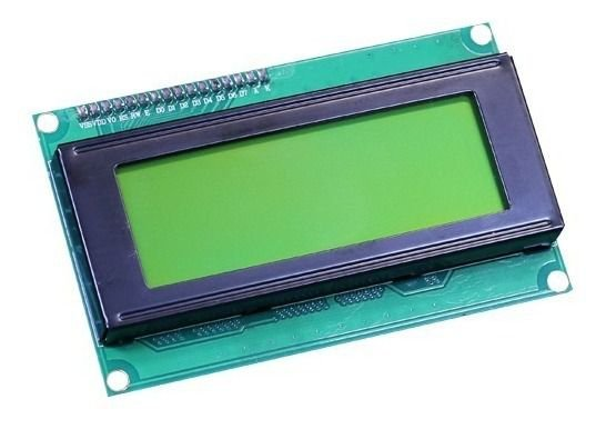 Display Lcd 20x4 Com Backlight Verde