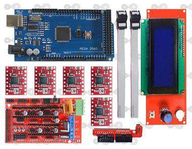 Kit Impressora 3D RAMPS RepRap com Mega