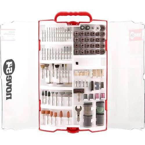 Kit Com 257 Acessórios Para Micro Retifica Padrão Dremel
