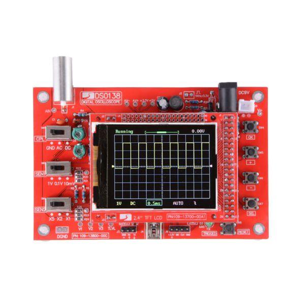 Osciloscópio Digital DSO138 - Kit Eletrônico Para Montagem