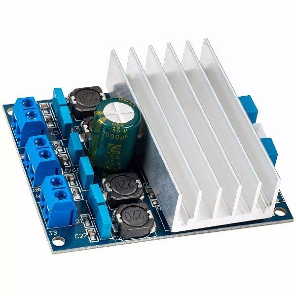 Amplificador Áudio Digital Potência TDA7492 2 X 50W - 0183