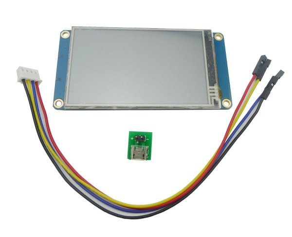 Tela Lcd Nextion 3.2 Tft 400x240 Touch Serial Uart Para Arduino
