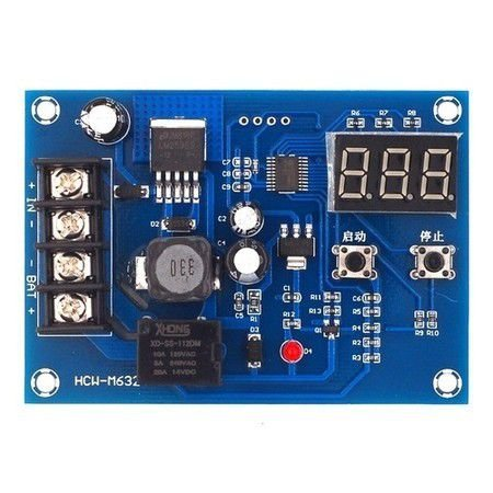 Módulo De Controle De Carga De Bateria 12-24V XH-M603