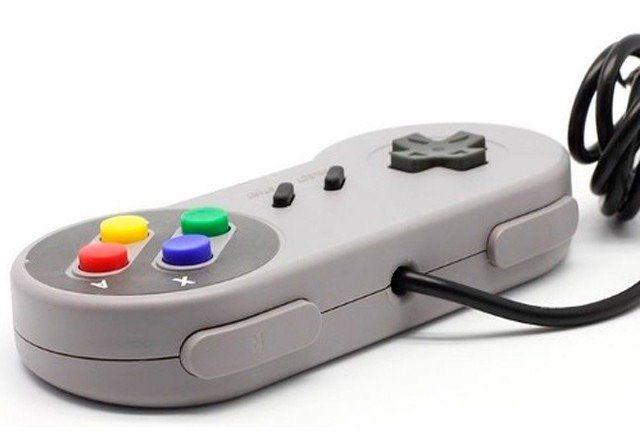 Controle USB Super Nintendo SNES P/ PC ou Raspberry