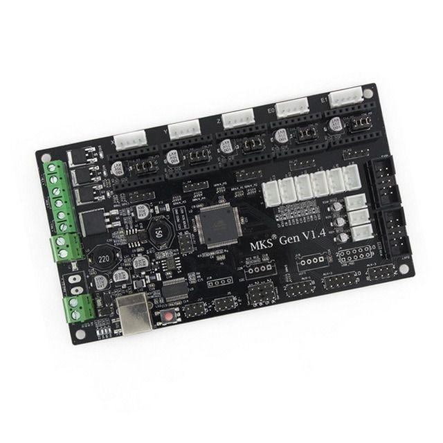 Placa Mks Gen V1.4 + 4 A4988 Subistitui Ramps e Arduino