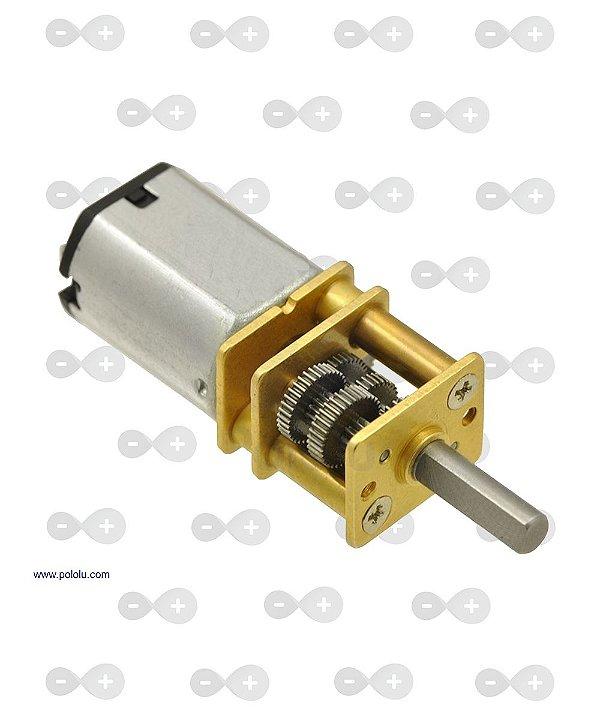 Motor Dc 12v Com Caixa De Redução 100rpm N20 Arduino Pic