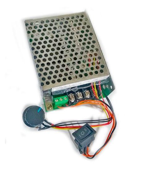 Controlador PWM 60A 10V-50V Controle De Rotação Motor DC