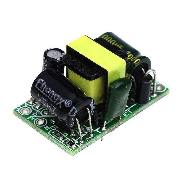 Fonte Conversor Ac-dc Buck Step Down 5v 3.5w 700ma Para Arduino