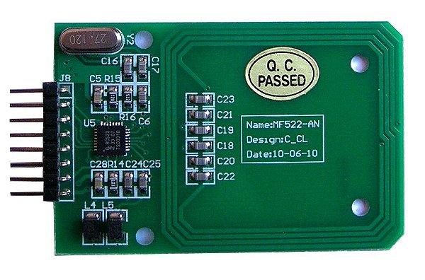 Módulo Leitor Rfid Mf 522 13,56 Mhz