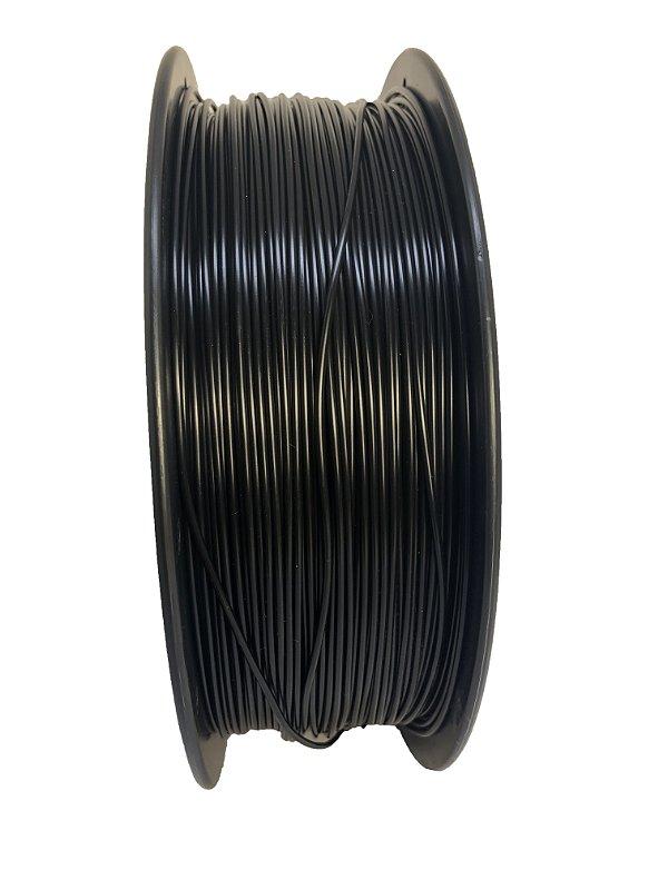 Filamento PLA 1,75mm Preto 1kg para Impressora 3d