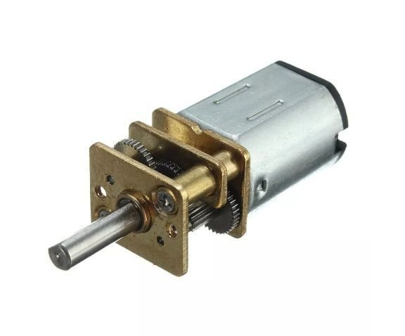 Mini Motor Redutor Dc 6v N20 100:1 150rpm Para Arduino Pic