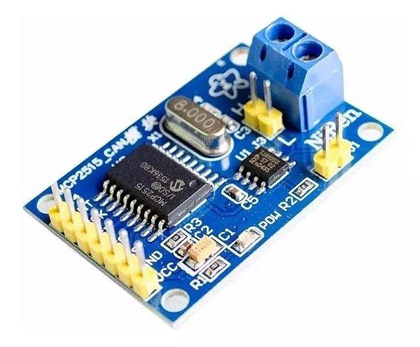 Módulo Can Bus MCP2515 TJA1050 Obdii Para Arduino