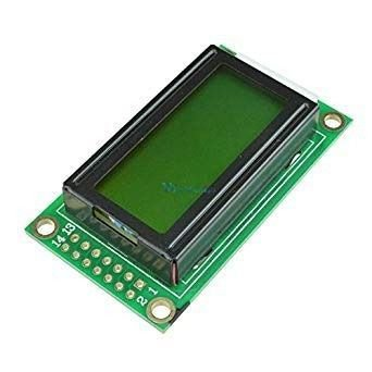 Display LCD 8x2 Com Backlight Verde Para Arduino