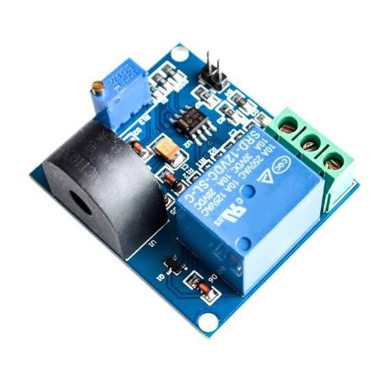 Sensor De Corrente 5A Dc Com Relé De Proteção
