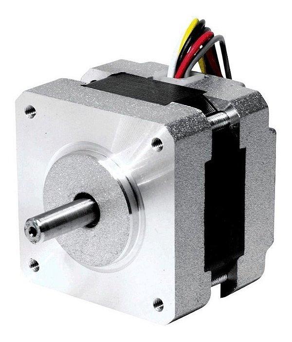 Motor de Passo NEMA 17 1,5A 34mm para Impressora 3D MODEL: 17HD34008-22B