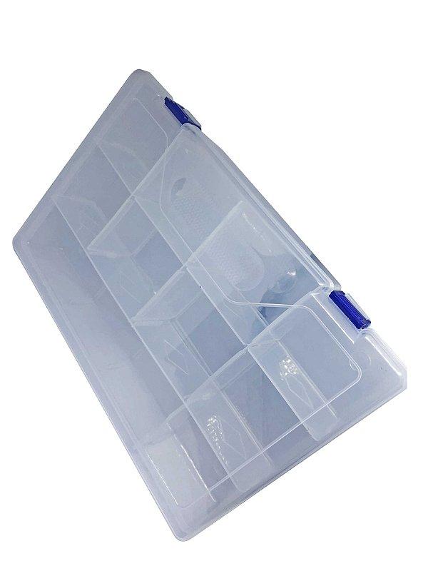 Caixa Plástica 10 SLOT 30*20*6CM