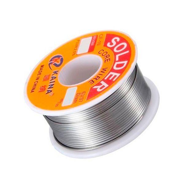 Rolo De Solda Estanho Fio 0,5mm 100g