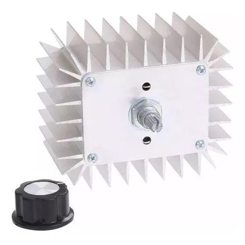 Dimmer 5000W Regulador de Tensão AC 220V SCR Metálico