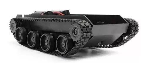 Chassi Robô Tipo Tanque Esteira Para Arduino