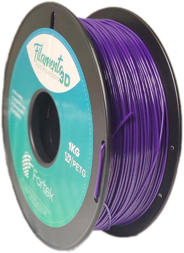 Filamento Pet-g 1,75 Mm 1kg - Roxo (Purple)