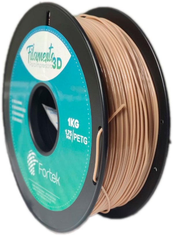Filamento Pet-g 1,75 Mm 1kg - Madeira (Wooden)