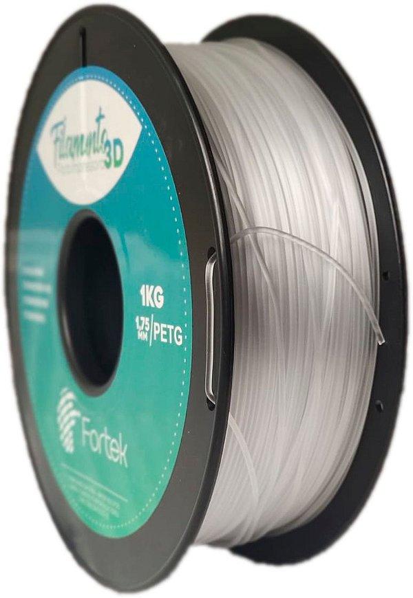 Filamento Pet-g 1,75 Mm 1kg - Transparente (Transparent)