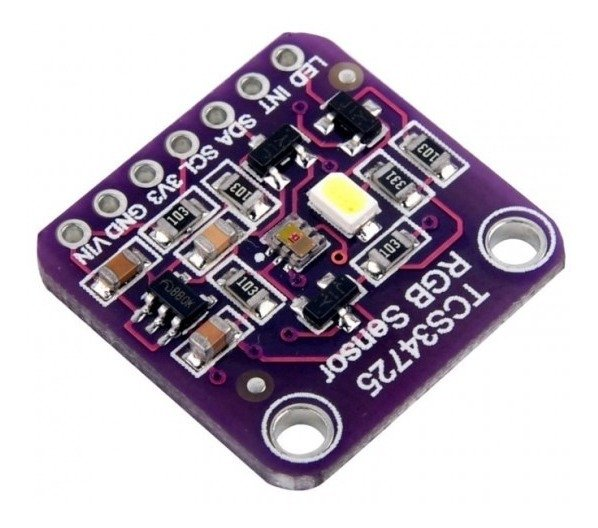 SENSOR DE COR RGB TCS34725 COM FILTRO IR
