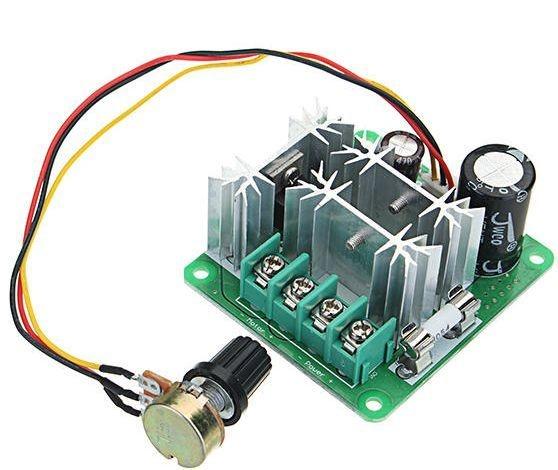Pwm Controlador De Velocidade Motor Dc 6v À 90v 400w 15a