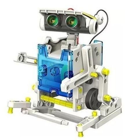 KIT EXPERIMENTOS SOLAR ROBOT 13 EM 1