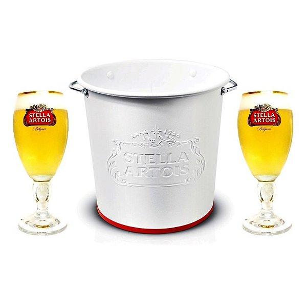 Kit Balde e Taça Stella Artois