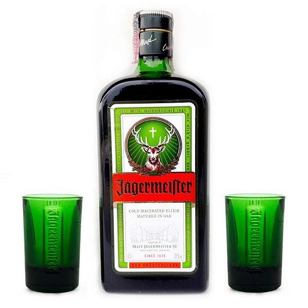 Jagermeister kit com 2 copos