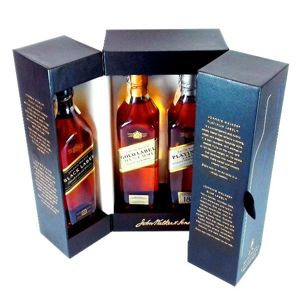 Whisky Johnnie Walker Collection Kit 4x200ml