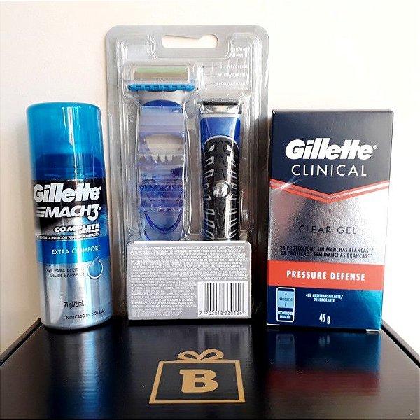 Presente para Homem Kit da Gillette