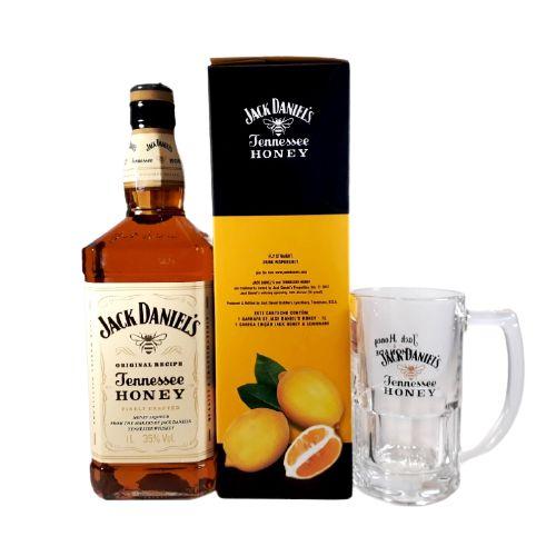 Jack Daniels Honey + Caneca