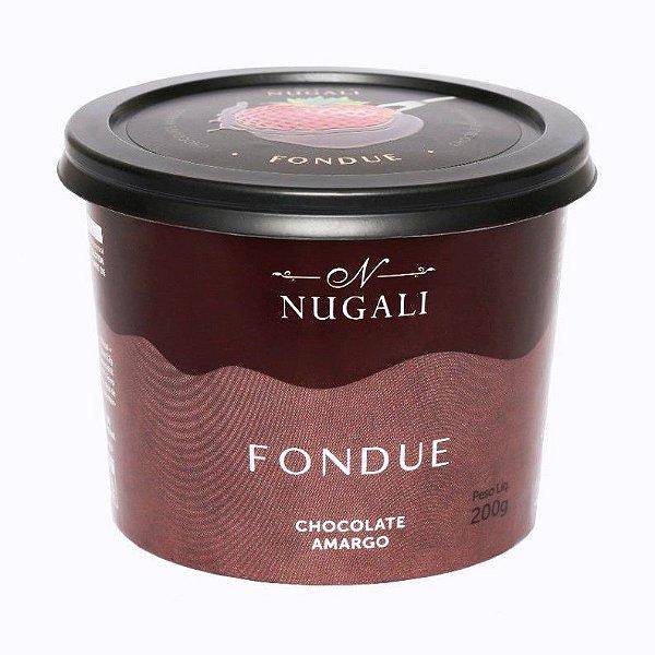 Fondue de Chocolate Amargo Nugali 60% Cacau