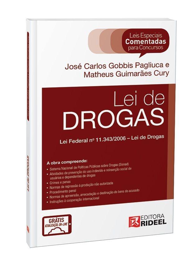 Leis Especiais Comentadas - Lei de Drogas - 1ª edição