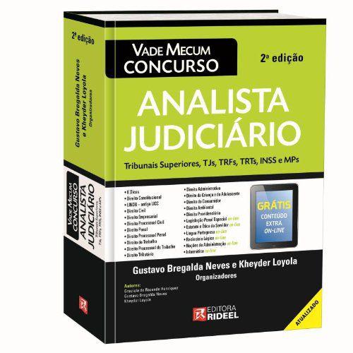 Vade Mecum Esquemas de Estudos - Analista Judiciario - 2ª edição