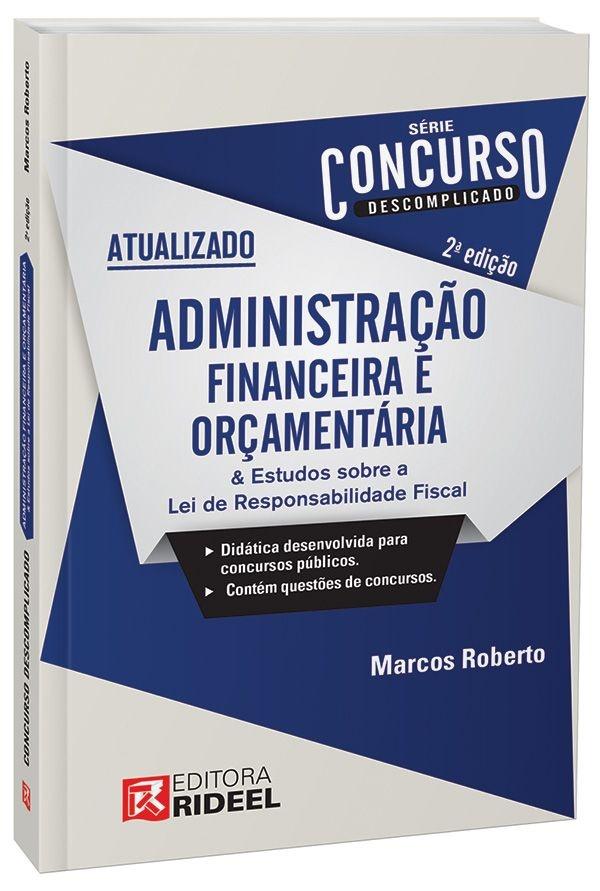 Concurso Descomplicado - Administração Financeira e Orçamentária - 2ª edição
