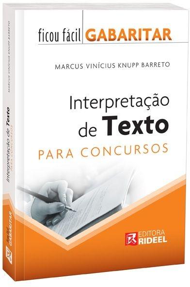 Ficou Fácil Gabaritar - Interpretação de Textos - 1ª edição