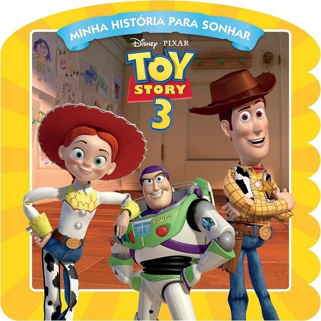 Disney Minha Historia para Sonhar - TOY STORY 3