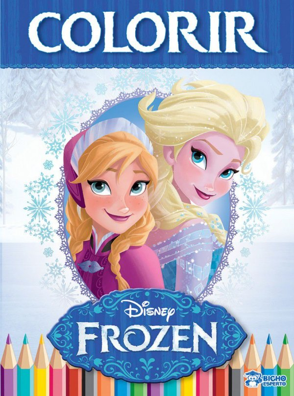 Colorir Grande - FROZEN - VOL 1