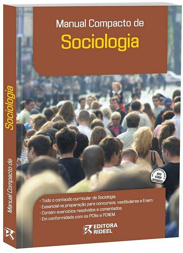 Manual Compacto de Sociologia – ENSINO MÉDIO