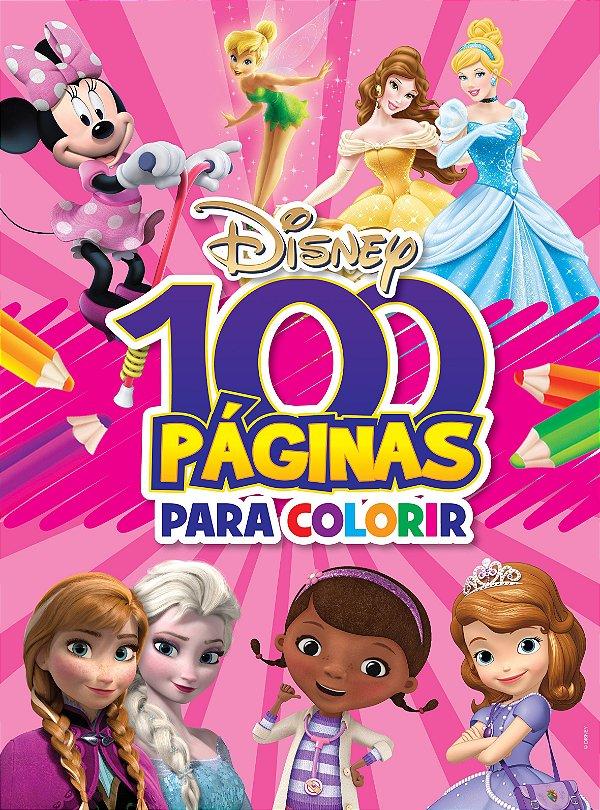 100 Paginas para Colorir Disney - MENINAS