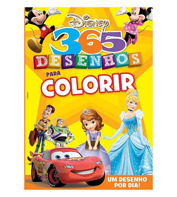 365 Desenhos Para Colorir Disney