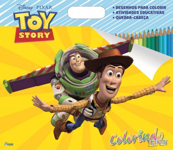 Super Colorindo Disney - TOY STORY