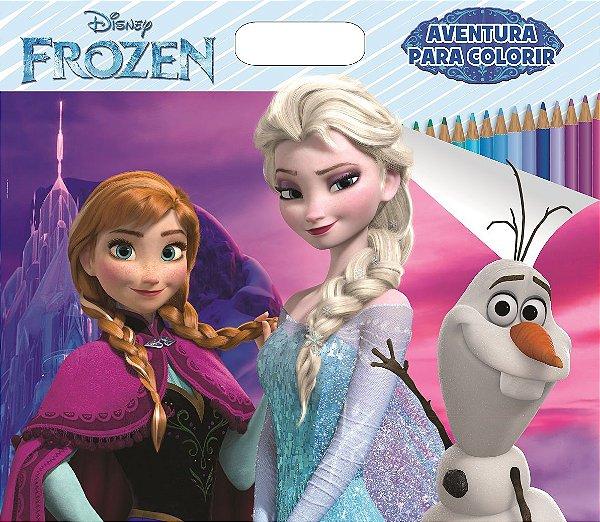 Super Colorindo Disney - AVENTURA PARA COLORIR