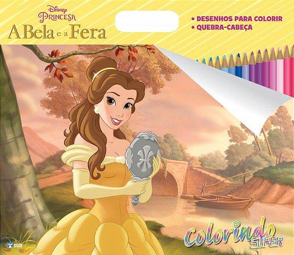 Super Colorindo Disney - A BELA E A FERA