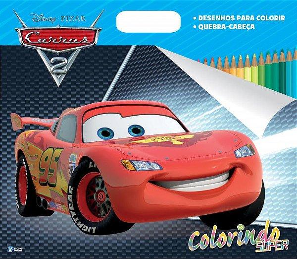 Super Colorindo Disney - CARROS 2