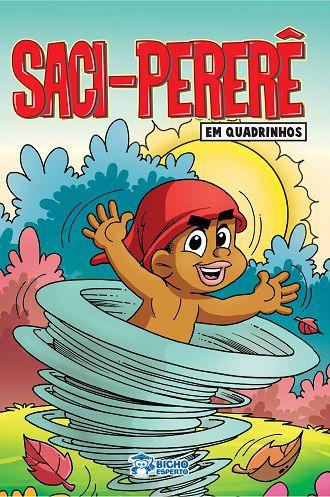Em quadrinhos Folclore - SACI PERERE COM 10 VOLUMES IGUAIS