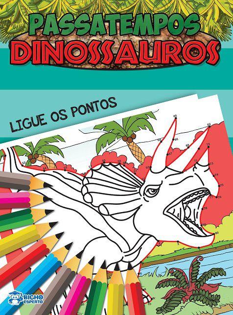Passatempos Dinossauros - LIGUE OS PONTOS